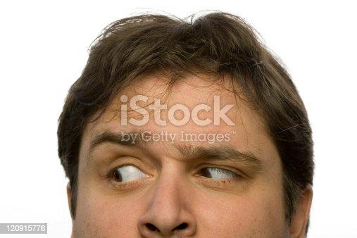 Male headshot - Annoyed look