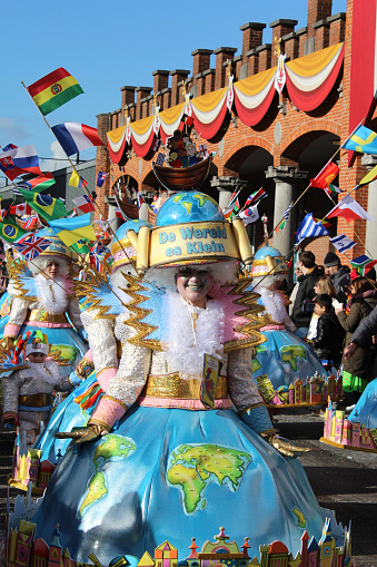istock Annual Carnival Monday Parade, Aalst, Belgium 918937978