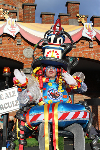 istock Annual Carnival Monday Parade, Aalst, Belgium 918937988