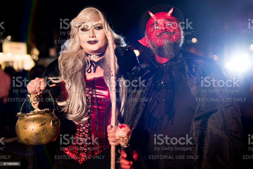 2017 Annual Halloween Parade In West Hollywood Stock Photo Download Image Now Istock