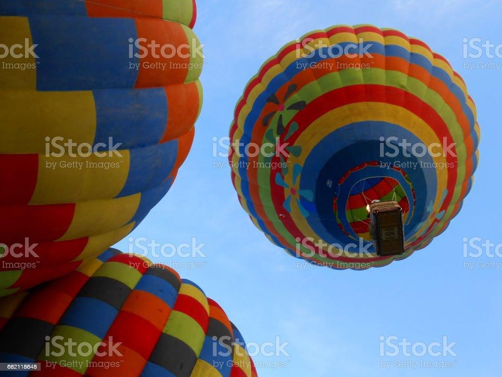 Annual Hot Air Balloon Festival at Tequisquiapan, México stock photo
