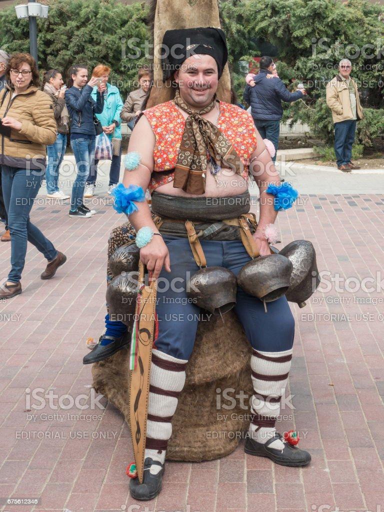 Annual Spring Carnival in Varna, Bulgaria foto de stock royalty-free
