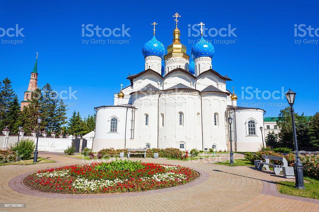 Annunciation Cathedral, Kazan Kremlin stock photo