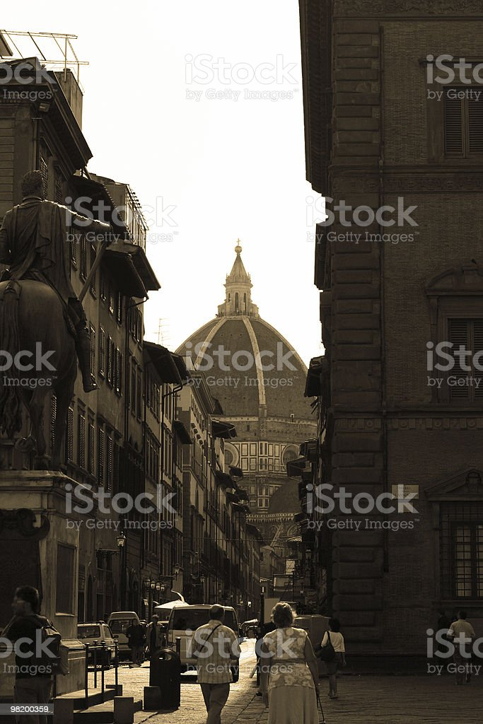 piazza Della Annunziata royalty-free stock photo