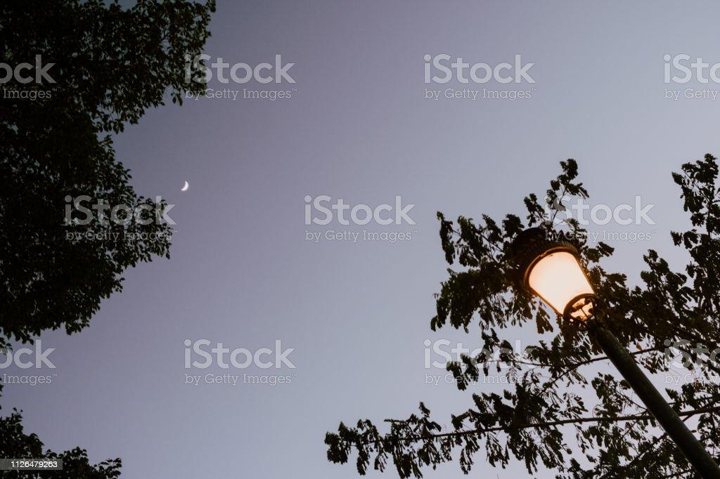 Anochecer - foto de stock
