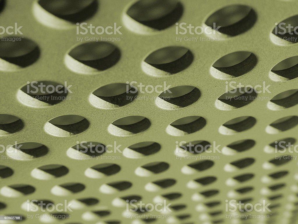 anodized aluminum royalty-free stock photo