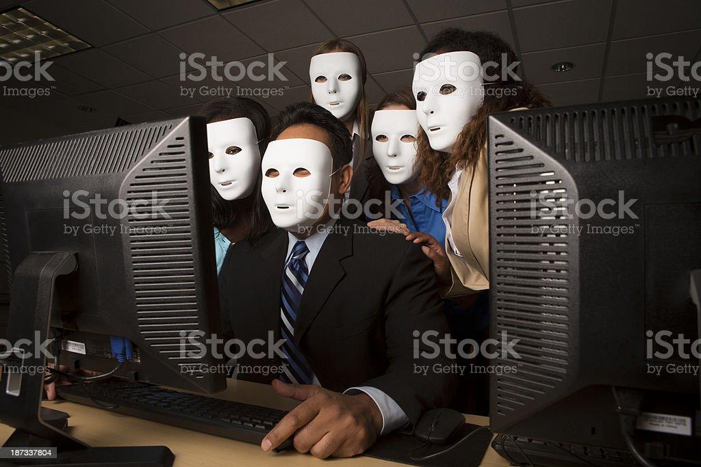 Anonyme Computer-Aktivist – Foto