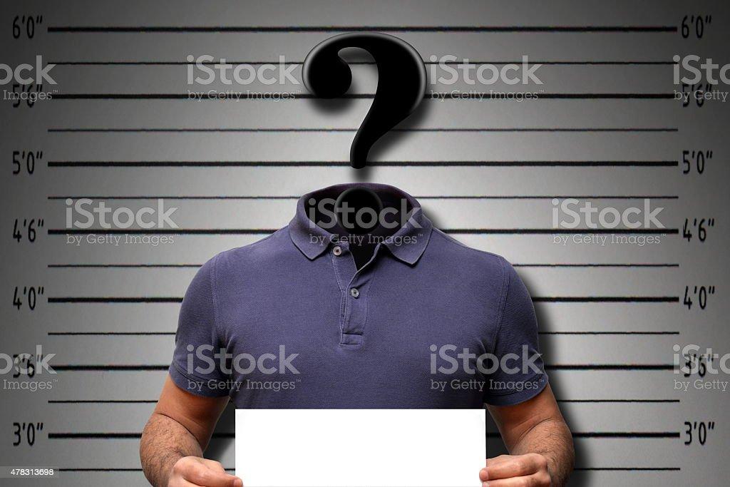 anonymous crime stock photo