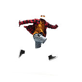 istock Anonymous, invisible man in casual wear isolated on white studio background 1271124893