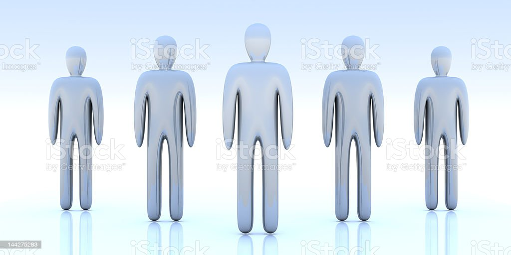 Anonymous People royalty-free stock photo