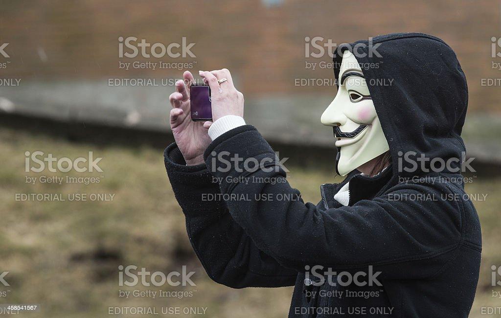 Anonymous Photographer stock photo