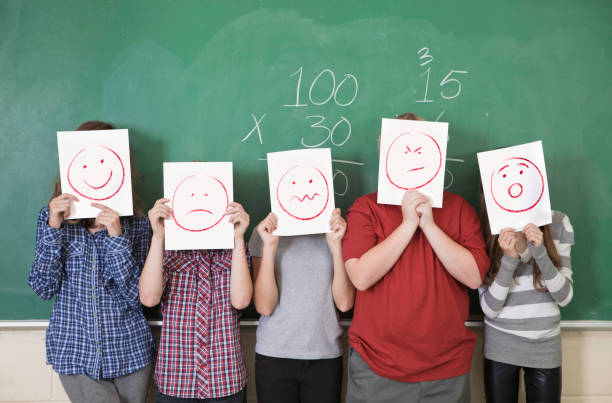 anonymous students - emotion stock pictures, royalty-free photos & images