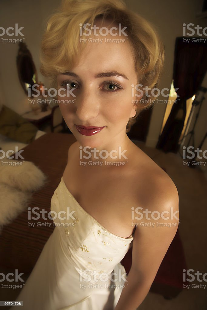 Anorexic royalty-free stock photo