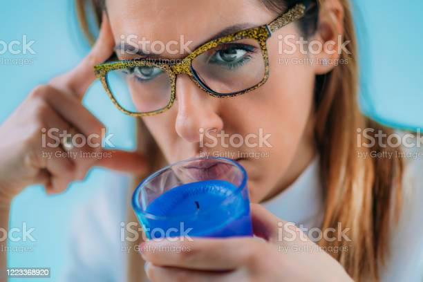 Anosmia Or Smell Blindness Loss Of The Ability To Smell Stock Photo - Download Image Now
