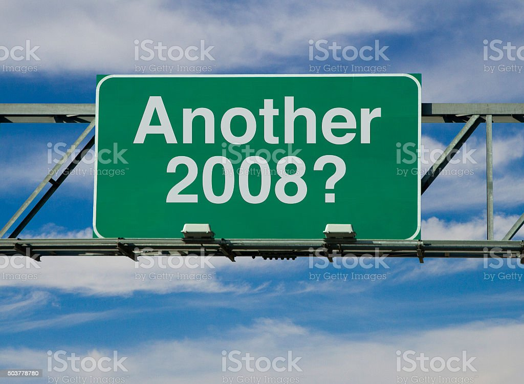 Another 2008? stock photo