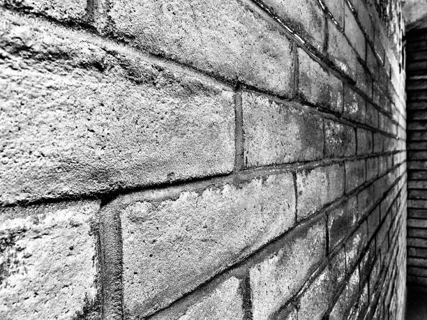 another brick in the wall abstract black and white bricks samuel howell stock pictures, royalty-free photos & images