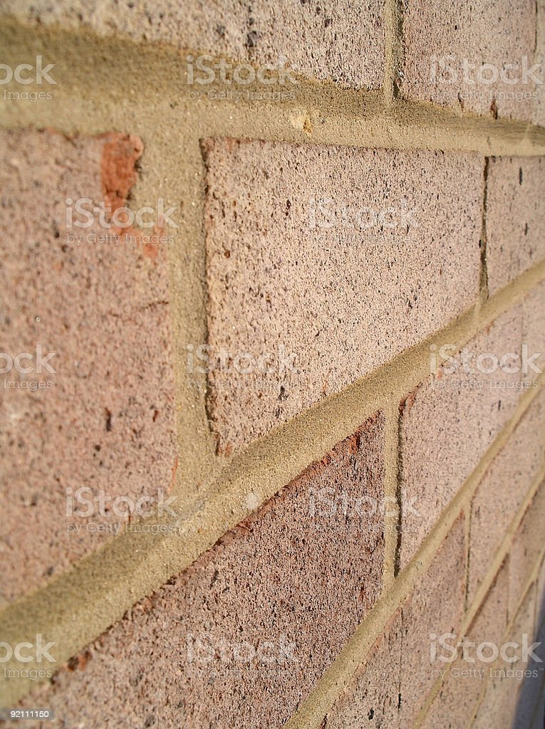 Another brick in the wall royalty-free stock photo
