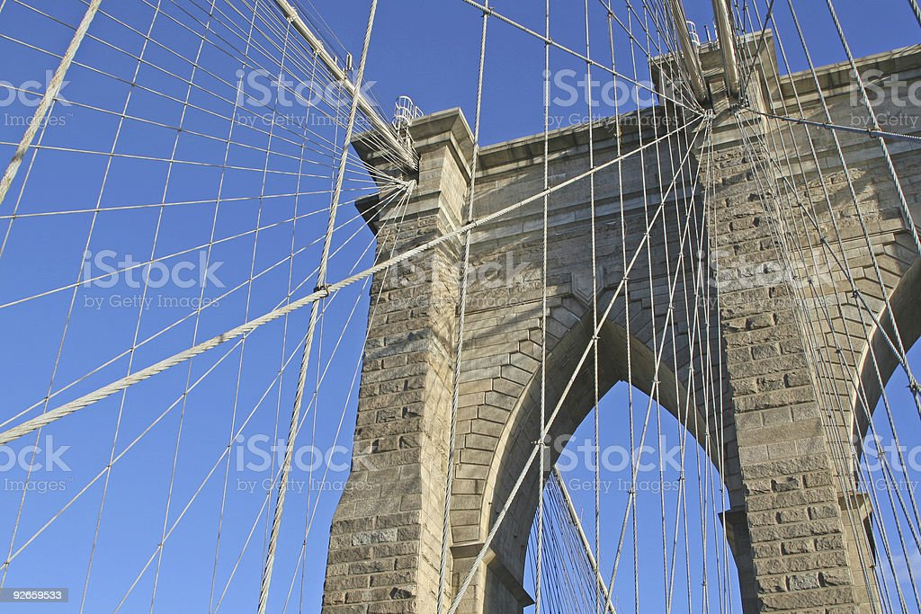 another brooklyn bridge royalty-free stock photo