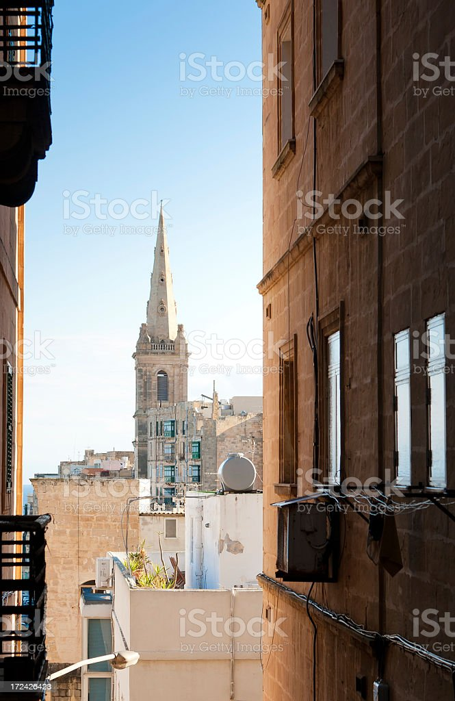 Another Church Down the Street royalty-free stock photo
