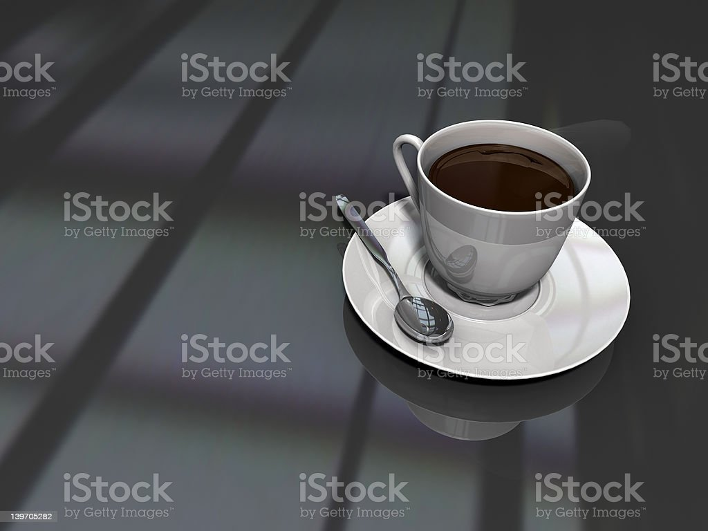 Another coffee cup stock photo