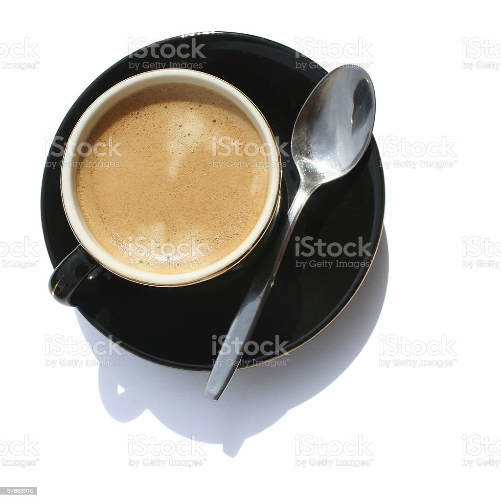 Another cup of coffee II royalty-free stock photo