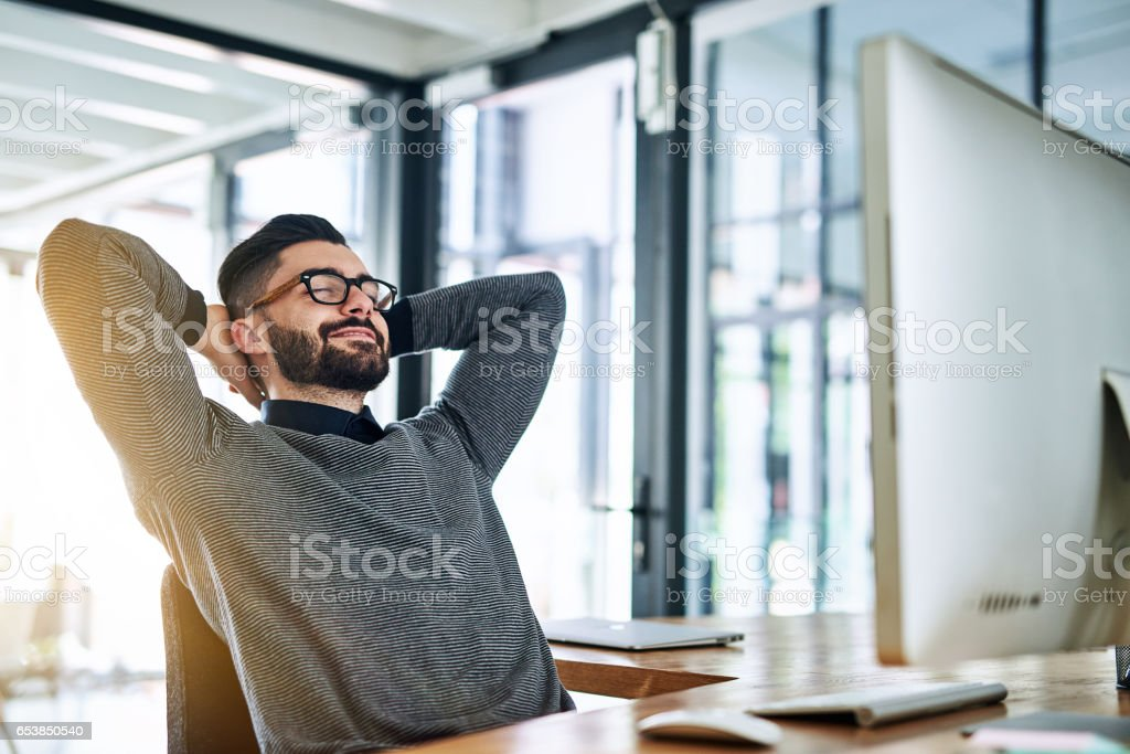 Another day, another deadline defeated stock photo