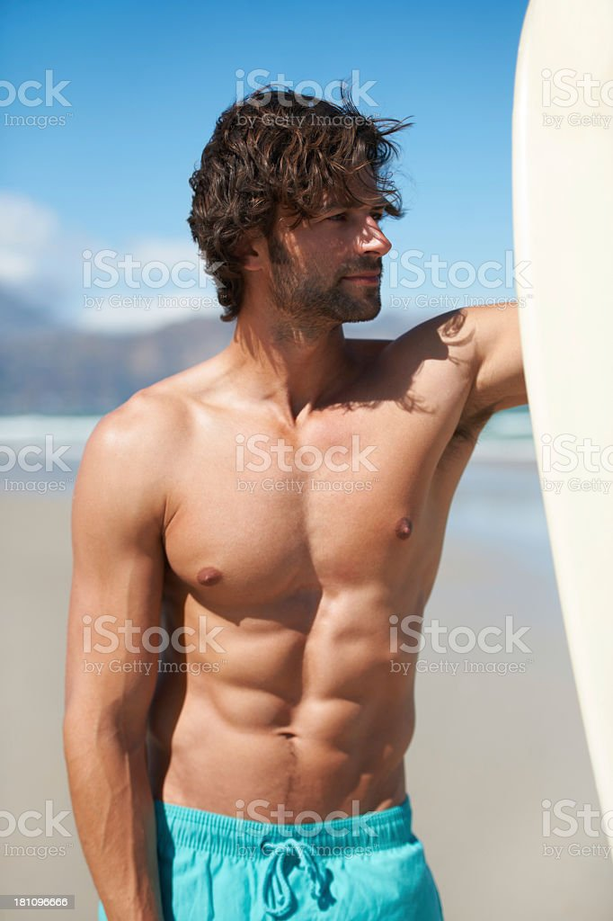 Another day at the beach royalty-free stock photo