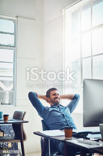 istock Another deadline defeated for the day 664221552