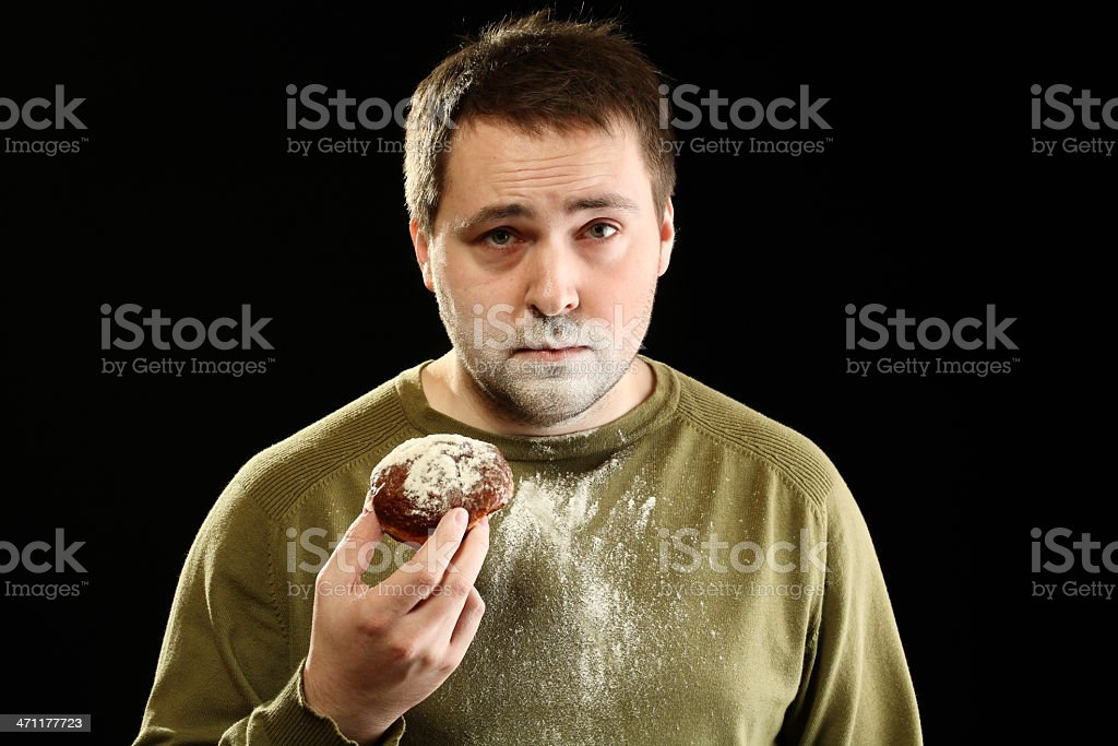 Another donut! stock photo