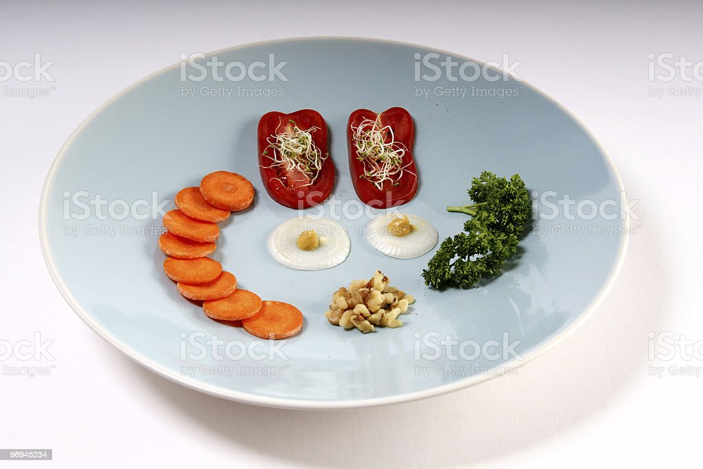Another light dinner royalty-free stock photo