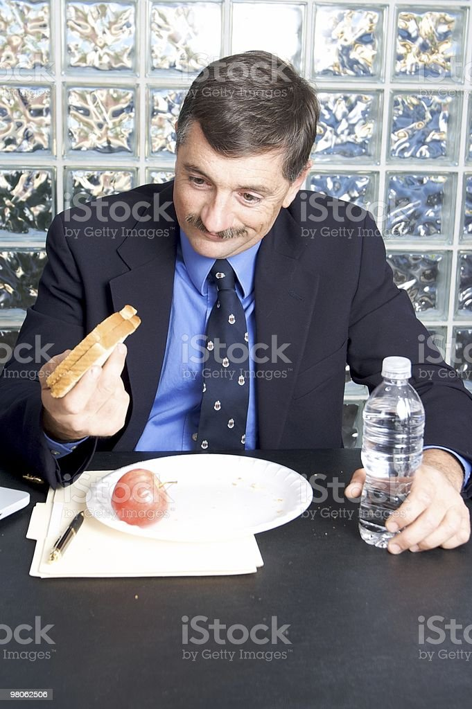 Another Lousy Lunch at Work royalty-free stock photo