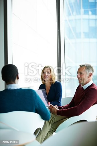 istock Another productive meeting in progress 533719332