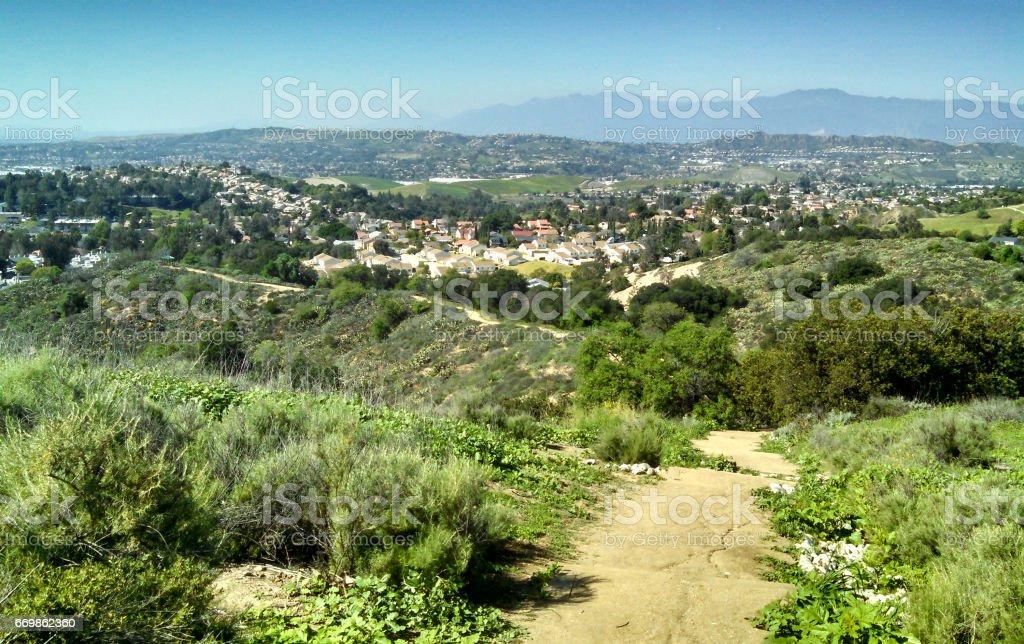 Another San Gabriel Valley Vista stock photo