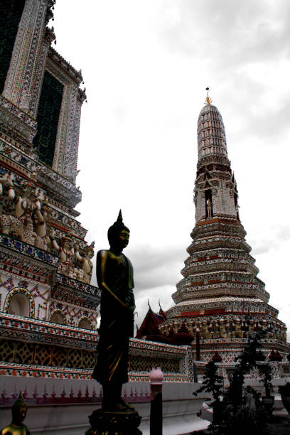 Another Side of Wat Arun stock photo
