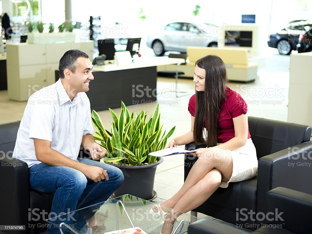 Another successful deal royalty-free stock photo