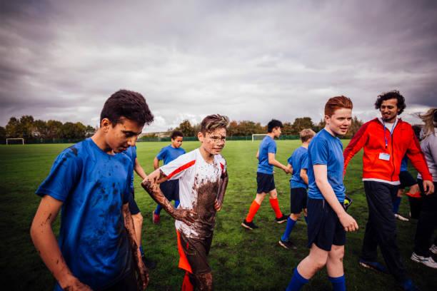 another successful game - photos de rugby photos et images de collection