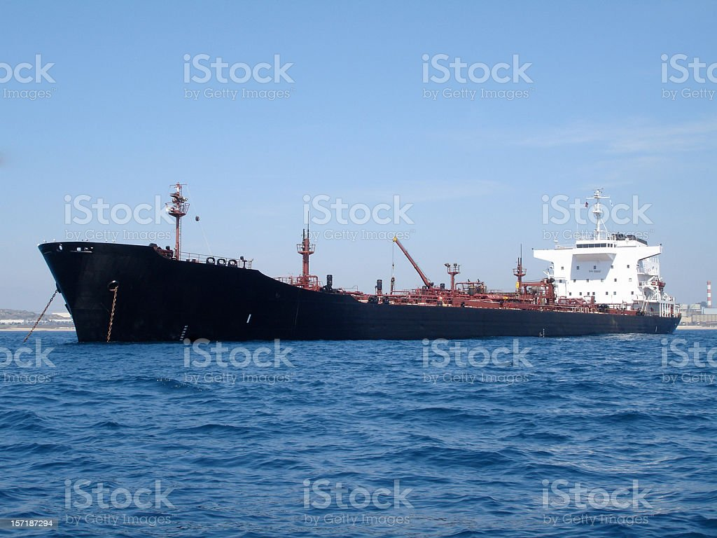 Another Tanker royalty-free stock photo
