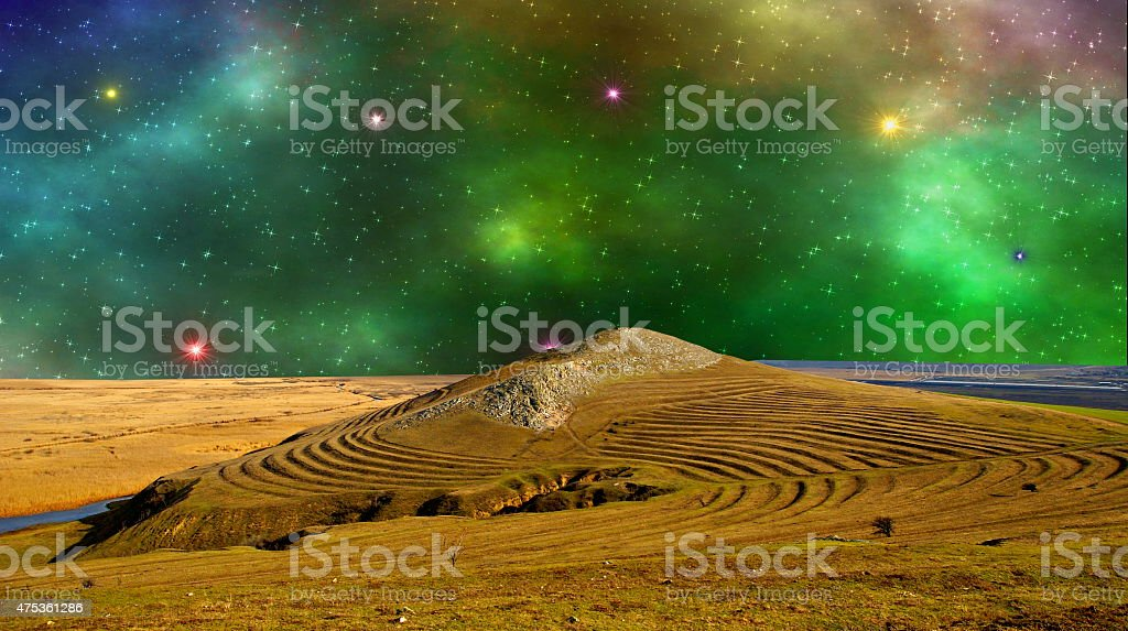 Another world stock photo