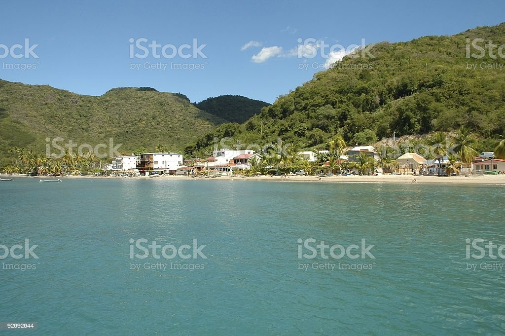 Anse d'arlets royalty-free stock photo