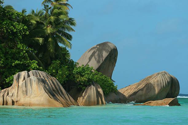 anse source d'argent aux Seychellen – Foto