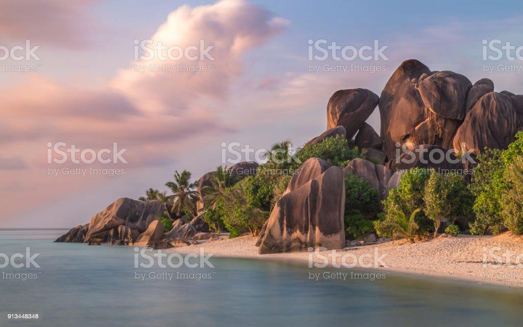 Anse Source d ' Argent auf La Digue Seychellen – Foto