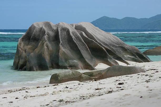 anse source d'argent Seychellen – Foto