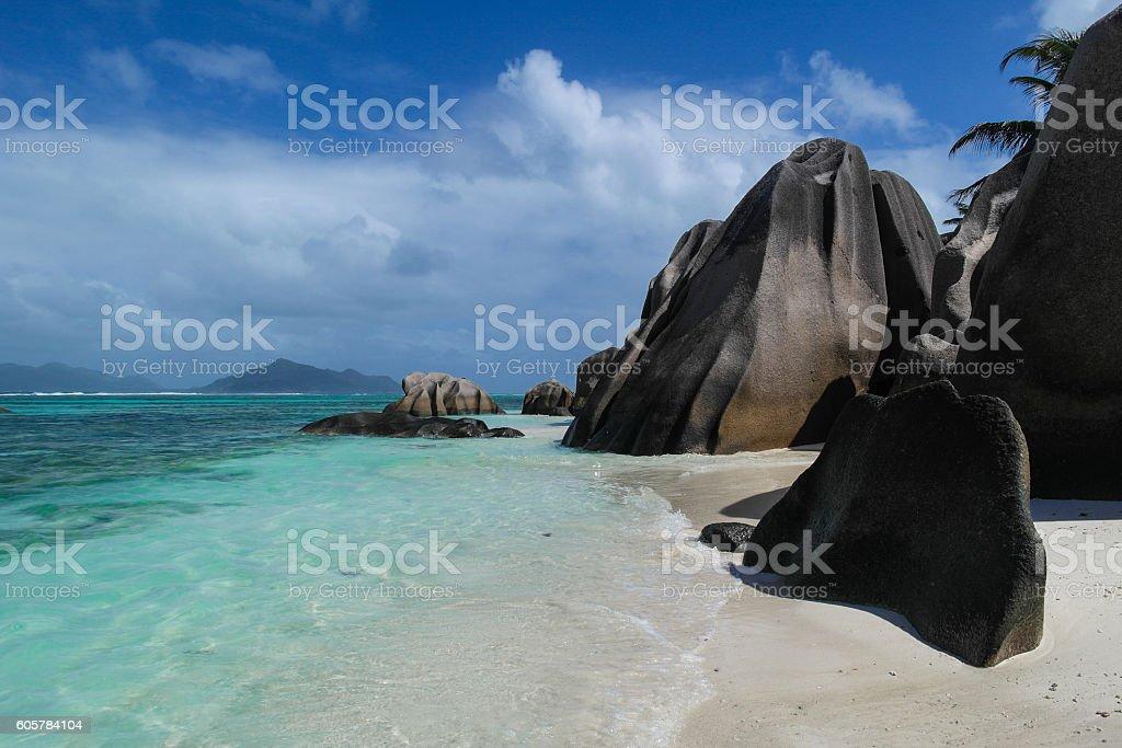 Anse Source d'Argent - Seychelles stock photo