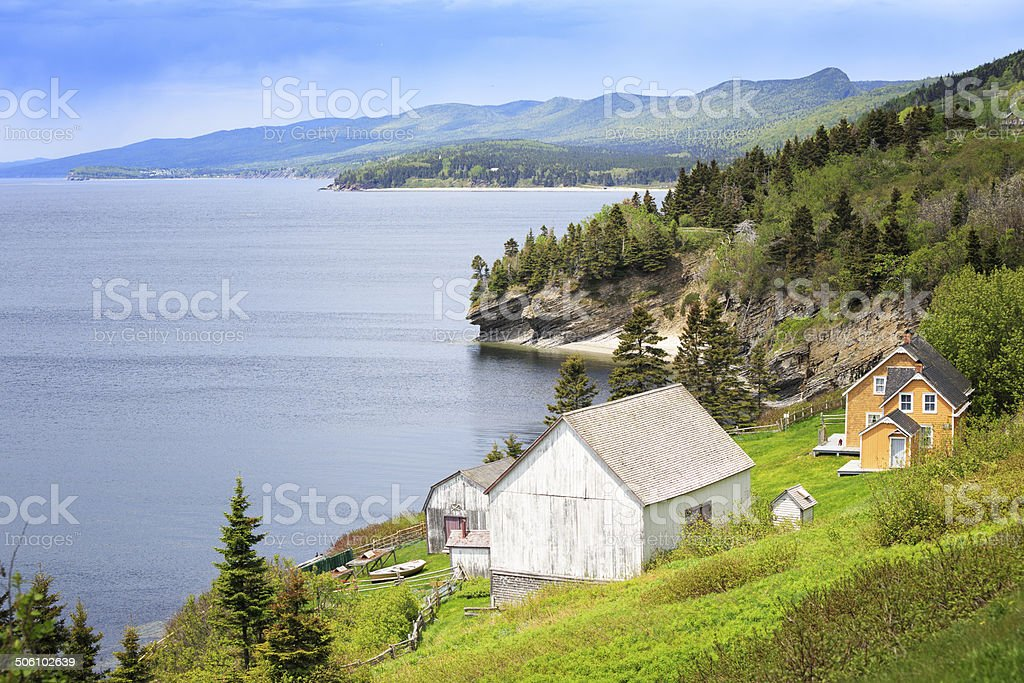 Anse-Saint-Georges, Canada stock photo
