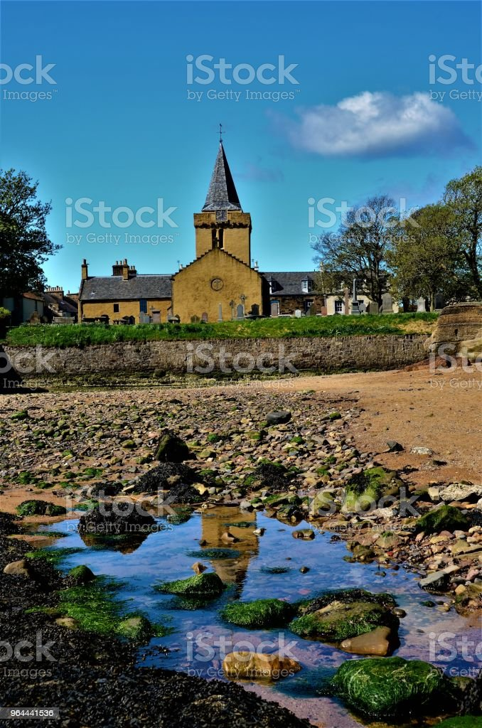 Anstruther Beach View - Foto de stock de Aldeia royalty-free