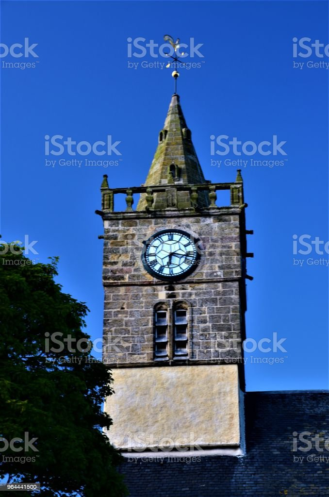 Anstruther kerk toren - Royalty-free Architectuur Stockfoto