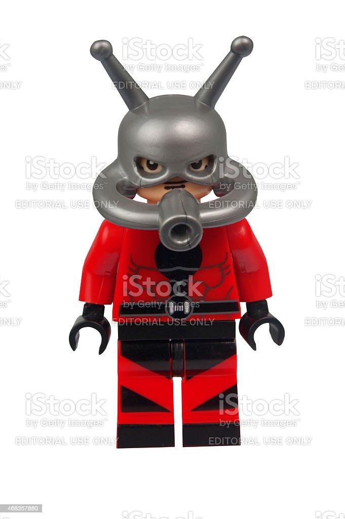 Ant Man Custom Lego Minifigure royalty-free stock photo
