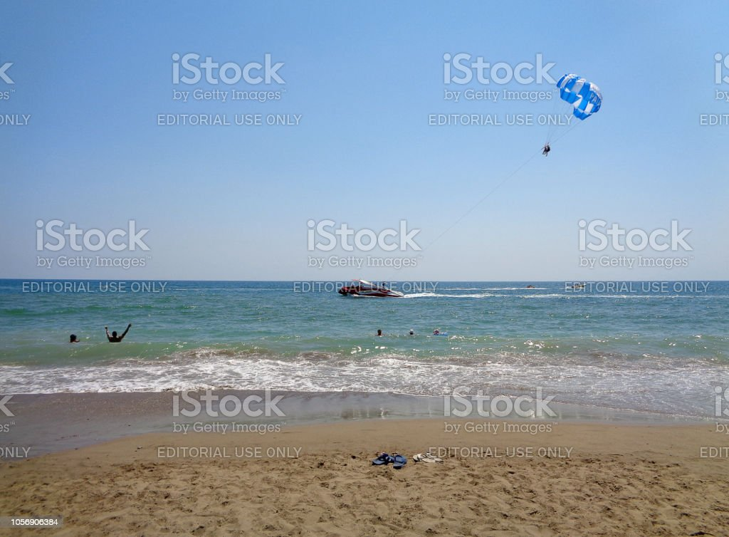 Antalya Belek view stock photo