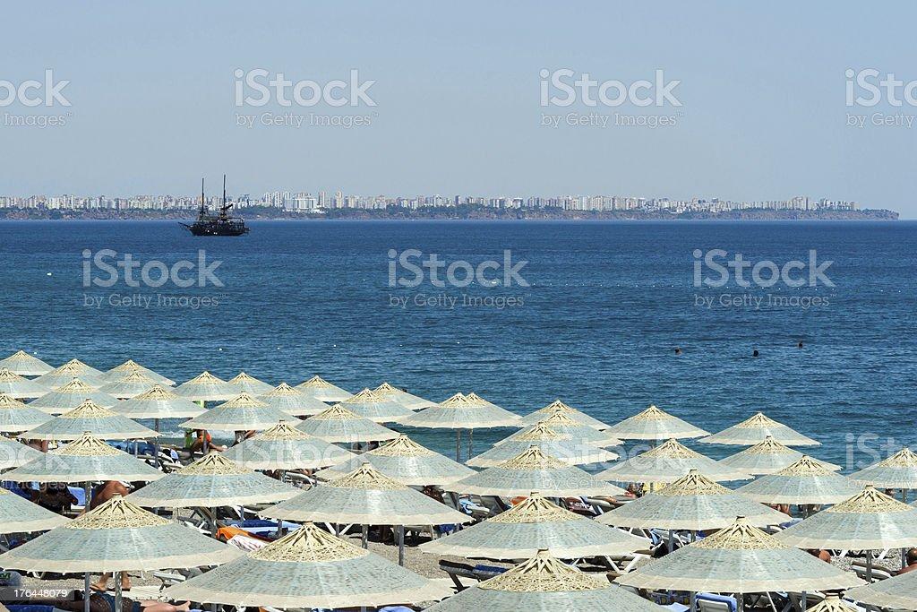 Antalya In Summer stock photo