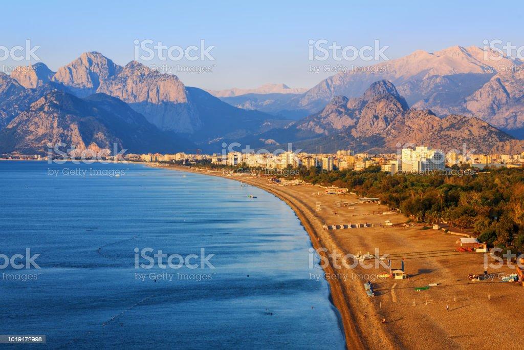Antalya Konyaalti Sand Strand, Türkei – Foto